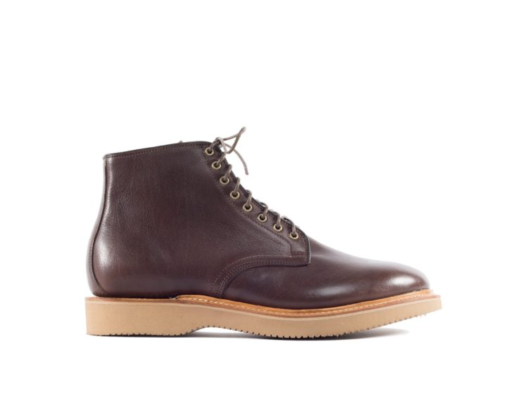 Viberg Derby Boot Brown Oiled Calf