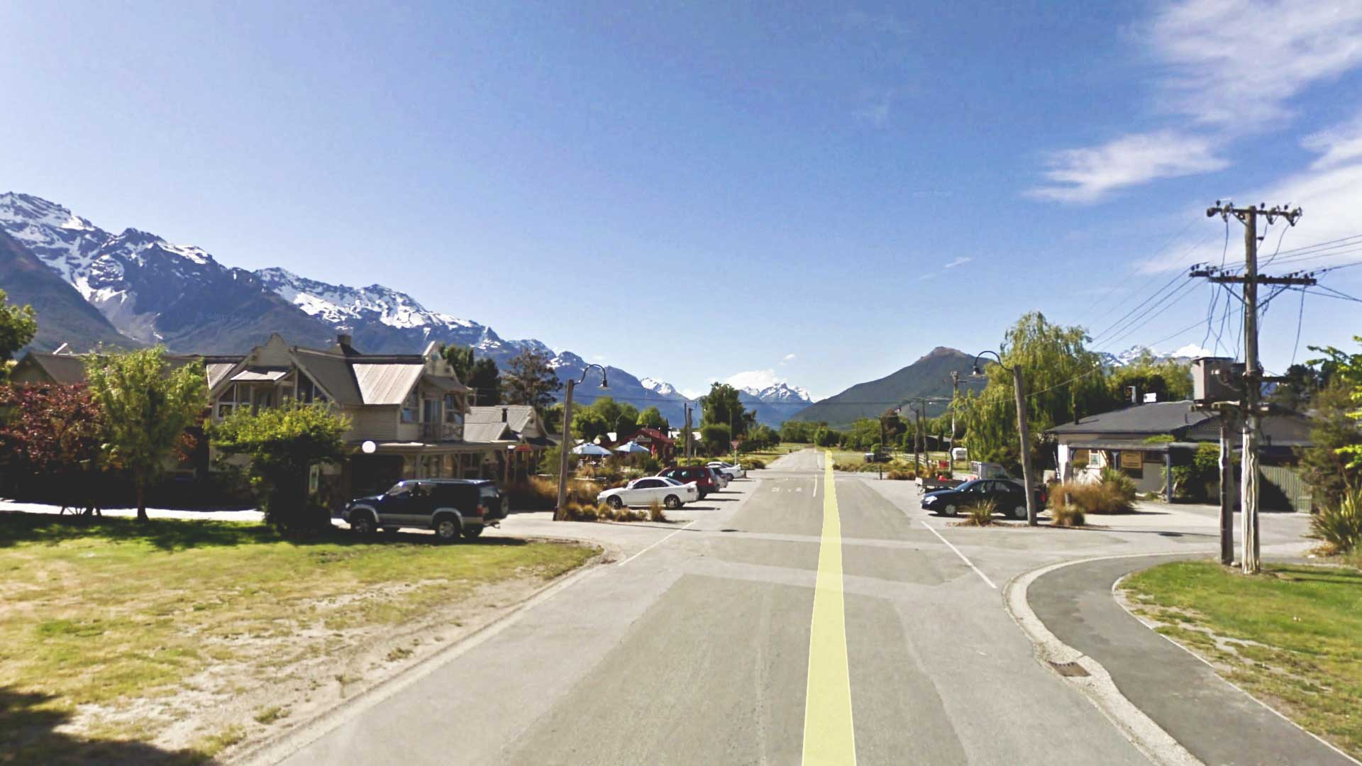 Queenstown to Glenorchy Road