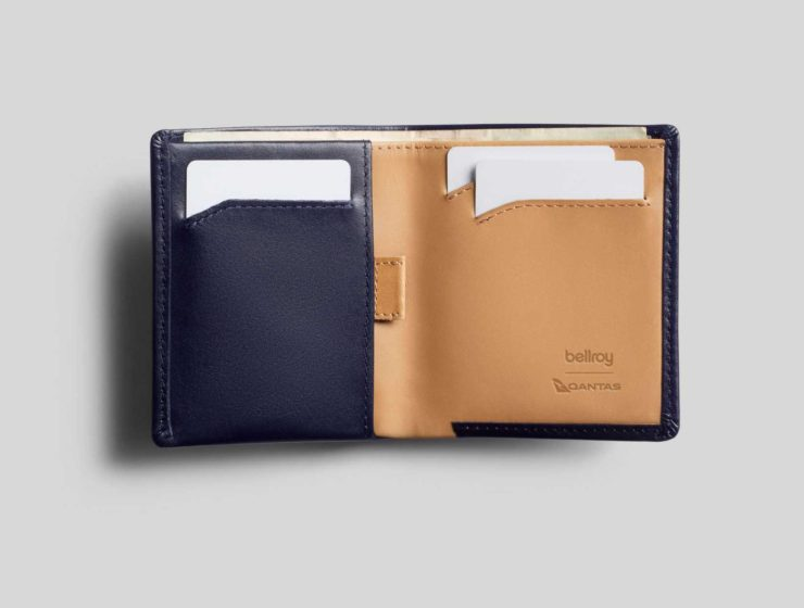 Bellroy Qantas wallets note sleeve