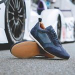 piloti driving shoes endurance navy 24hr Le Mans